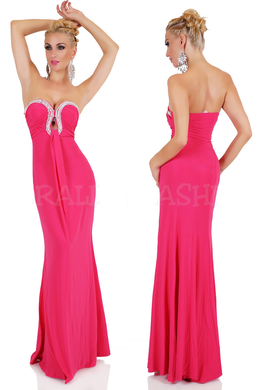 8aa2f03cd388c SeXy MAXI DRESS BANDEAU LONG SUMMER BEACH PARTY EVENING Sexy ...